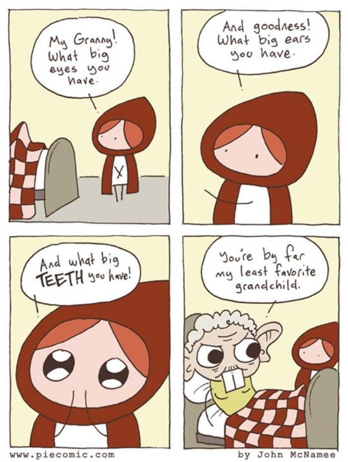 little red riding hood funny picture