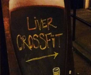 liver crossfit funny picture