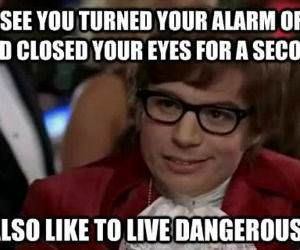 Living Dangerously funny picture