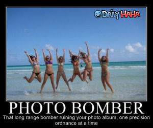 Photo Bomber funny picture