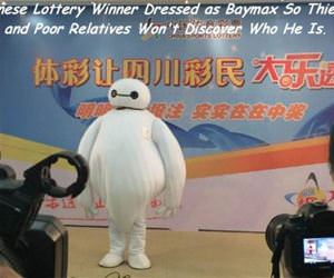 lottery winner funny picture