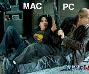 MAC vs PC funny picture