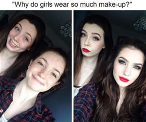 makeup funny picture
