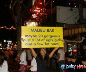 Malibu Bar funny picture