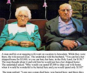 Man and Nagging Wife funny picture