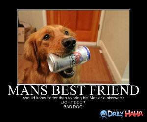 Mans Best Friend funny picture