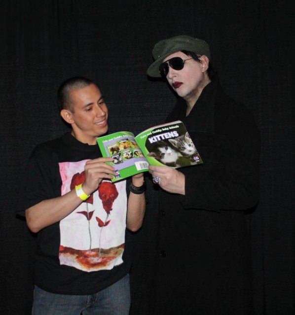 Marilyn Manson funny picture
