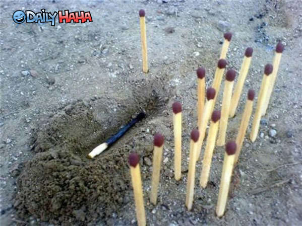 funeral of matches