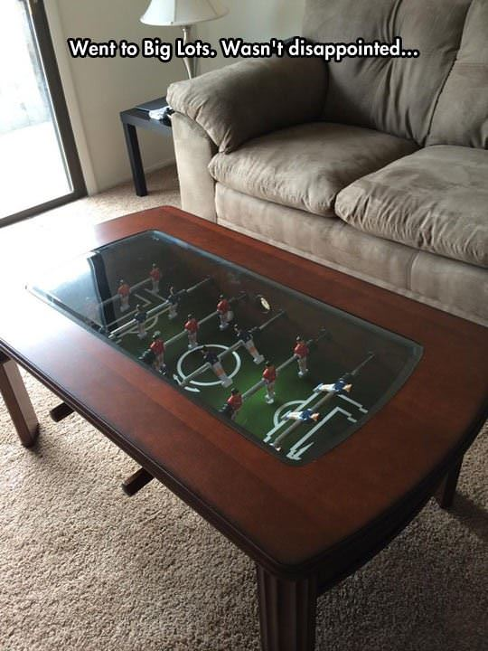 maybe the best coffee table ever