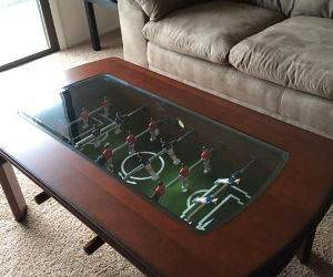 maybe the best coffee table ever funny picture