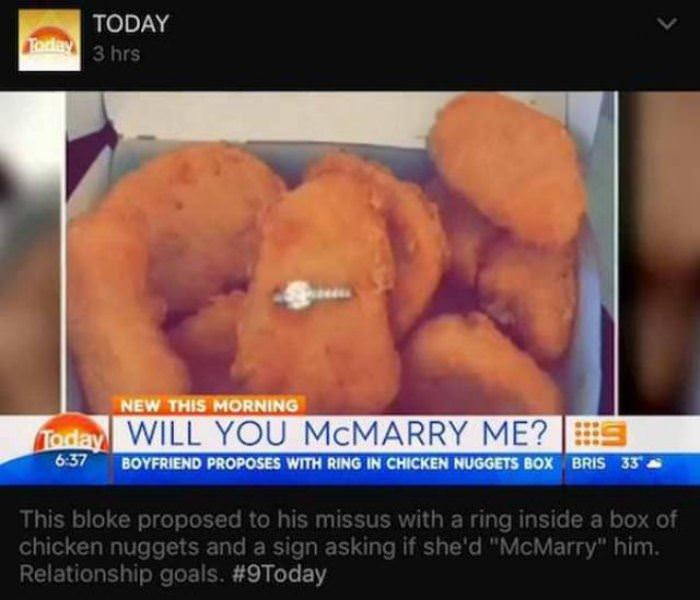 mcmarry me funny picture