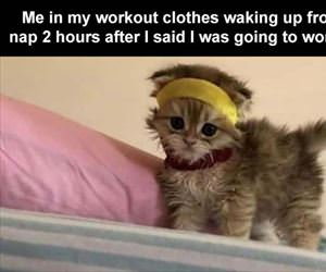 me in my workout cloths