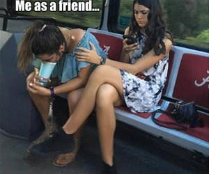 me as a friend funny picture