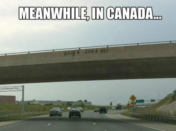 Meanwhile in Canada fuuny picture