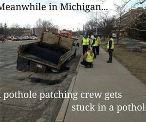 meanwhile in michigan funny picture