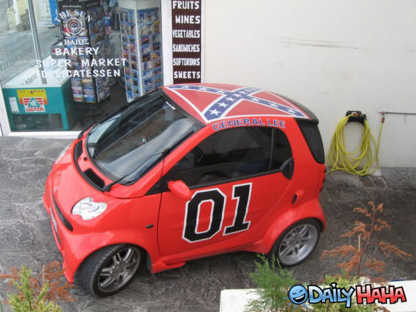 Mini General Lee funny picture