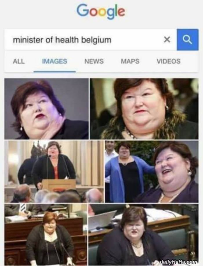 minister of health funny picture