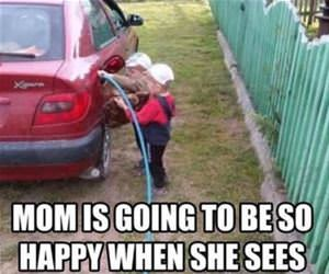 mom is going to be so happy funny picture