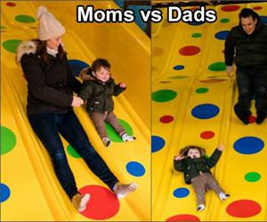moms vs dads main difference