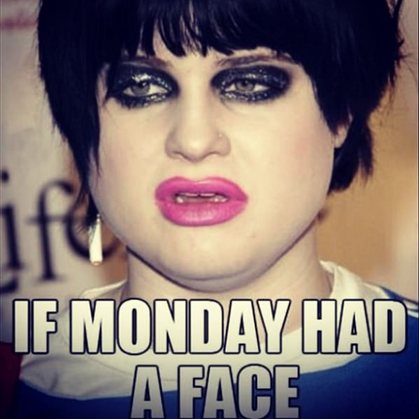 Monday Face funny picture