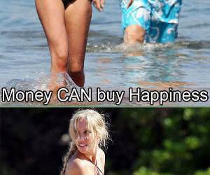 Happiness is Money funny picture