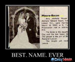 Moore Bacon funny picture