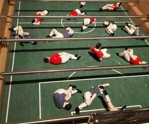 more realistic foosball funny picture
