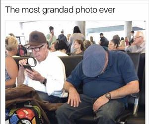 most grandpa photo ever