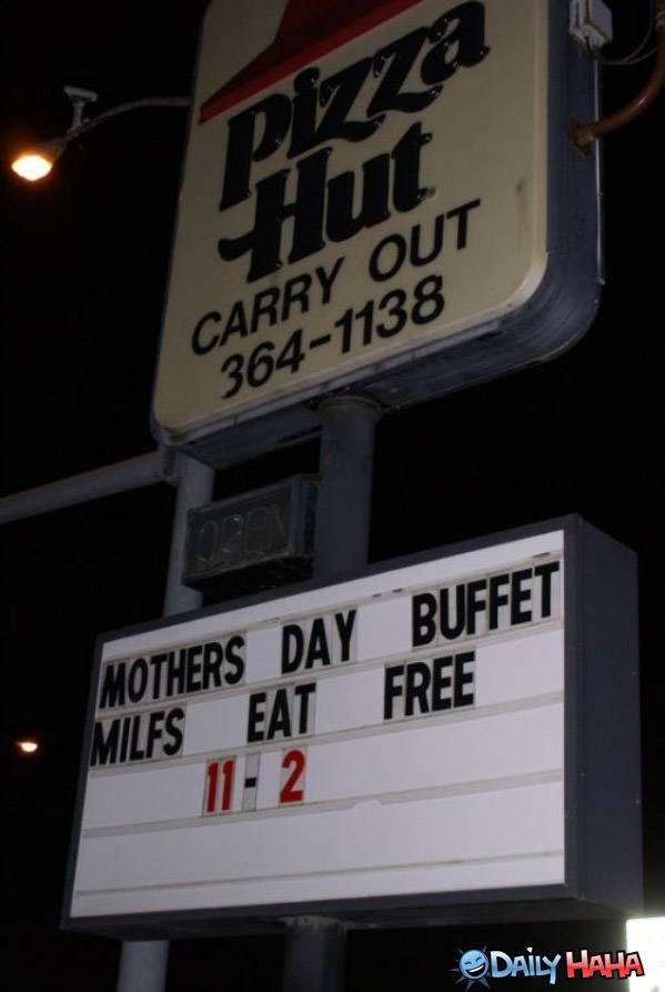 Mothers Day Buffet funny picture