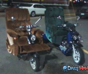 Motor Lazy Boy funny picture