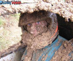 Mud Racer Mask funny picture