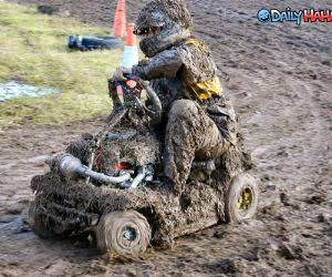 Muddy Go Cart