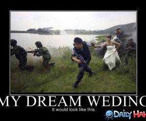 A Dream Wedding funny picture