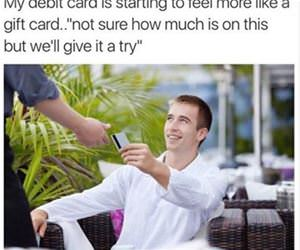 my debit card funny picture