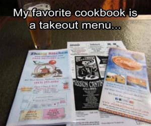 my favorite cookbook funny picture