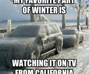 my favorite part of winter is funny picture