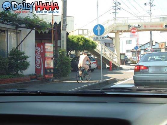 Naked Bike Riding