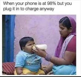 needs a little charge