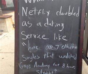 netflix dating service funny picture