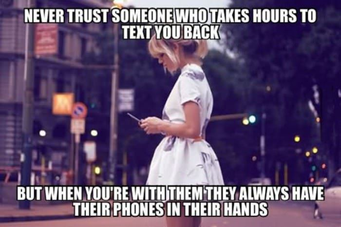 never trust those people funny picture