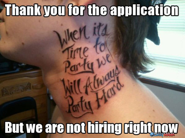 Nice Tattoo funny picture
