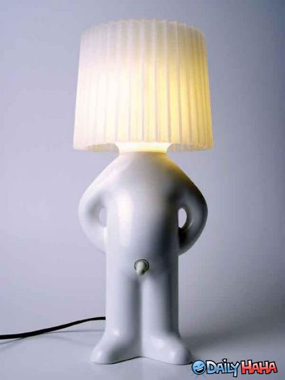 This Butt Lamp