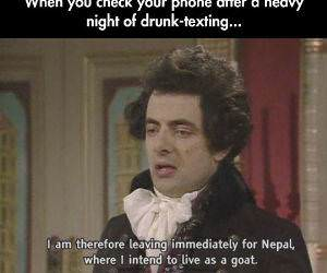 Night of Drunk Texting