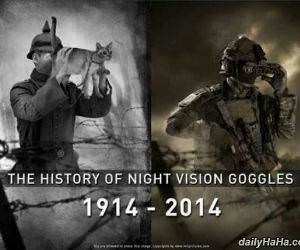 night vision goggles funny picture