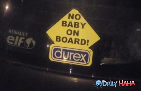 No Baby funny picture