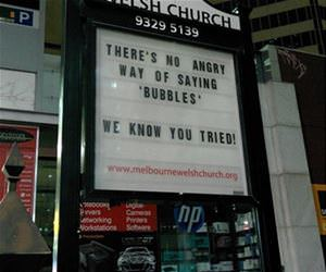 no angry way of saying bubbles funny picture