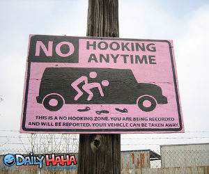 No Hooking AnyTime