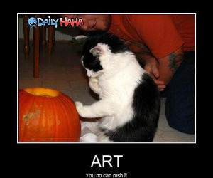 Cant Rush Art LOLCat