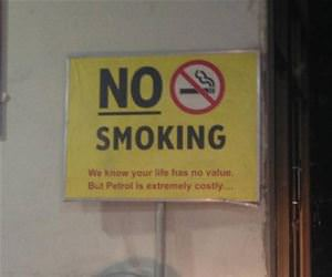 no smoking here funny picture