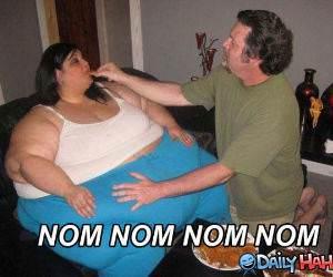 Nom Nom Fatty funny picture